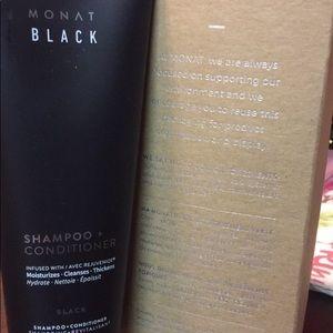 Monat BLACK Shampoo+conditioner